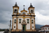 Mariana was one of the largest gold-producing cities on earth and was showered in Baroque treasures