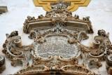 Dedication over the door of São Francisco de Assis dated 1763
