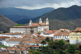 The city center of Ouro Preto from Rua Cons Quintiliano