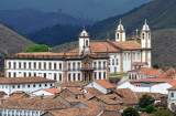 Old City Hall and the Carmelite Church, Ouro Preto