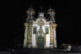 Igreja de São Francisco de Assis, Ouro Preto at night