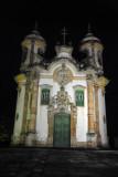 São Francisco de Assis, Ouro Preto at night