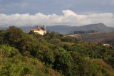 The first of Ouro Preto's glorious baroque and rococo churches comes into view