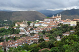 Panoramic view of Ouro Preto from Rua Cons Quintiliano