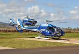 A second Blue Hawaiian Eurocopter(N11QP)  arrives