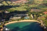 Kalapaki Beach and the Kauai Marriott