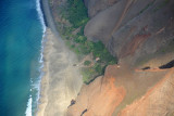 Kalalau Beach with its Ranger Station and campsite
