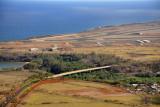 Bridge at Hanamaulu Beach near Lihue Airport