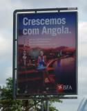 Crescemos com Angola - BFA advertisement