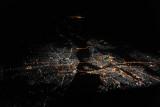 Khartoum and Omdurman, Sudan at night