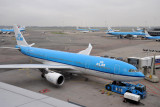 KLM A330 (PH-AOI) at AMS