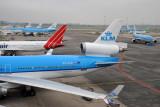 KLM MD11 (PH-KCB) at AMS