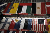 Flags of the world - Corcovado Railway Station