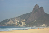 Ipanema Beach looking west - Morro Dois Irmãos (Two Brothers Hill)