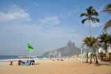 I find Ipanema Beach to be much prettier than Copacabana
