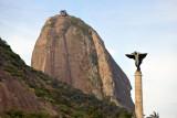 Pão de Açúcar from Praça Gen. Tibúrico, Rio de Janeiro