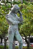 Chopin statue, Rio de Janeiro-Urca