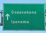 Rio de Janeiro's two most famous beaches - Ipanema and Copacabana