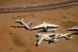 Alfa Airlines Ilyshin IL-76 (ST-EDW) and Sudanese States Aviation B707 at Khartoum
