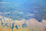 Turkmenistan/Uzbekistan border area - the fertile Amu Dar'ya River valley