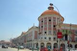 Luanda's nicest building, the colonial-era Banco Nacional de Angola