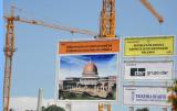 Construction site for the new Assembleia Nacional de Angola