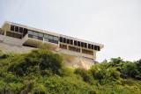 An interesting modern building overlooking Chicala