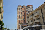 Entering Luanda's downtown area