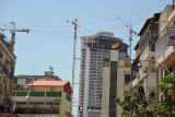 Construction in downtown Luanda