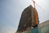 Hillside construction site of the new Luanda InterContinental