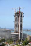 Torre Ambiente under construction, Luanda, 2010
