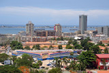 View of Luanda with Ilha do Cabo across the bay