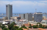 View of Luanda with Hotel Presidente and Angola Telecom