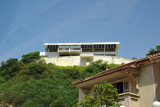 Another pass by this modern hillside home overlooking Av. Dr. Antonio Agostino Neto