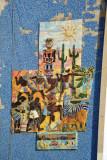 Tile mural, Luanda Corniche