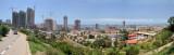 Panoramic view of Luanda from Rua do Almirante Azevedo Coutinho, Miramar
