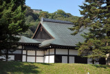 Hikone Castle Museum at the foot of the castle's hill