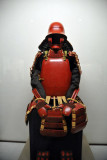 Suit of armor in Gusoku Style with red-lacquered body, late 16th C.