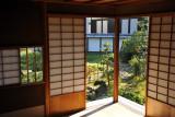 Traditional sliding doors, Hikone Castle Museum