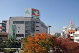 The square in front of JR Hikone Station