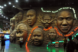 Africa Joint Pavilion - the Faces of Africa