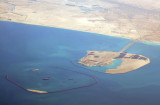 Another island sprouting off the coast west of Palm Jebel Ali
