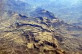 Terraced fields of the Yemeni Highlands (N14 03/E 44 28)