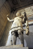 This statue of Constantine once stood in the Baths of Diocletian