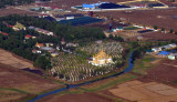 Temple north of Yangon Airport (N16 59.48/E096 10.11)