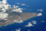 Eastern end of Molokai
