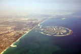 Palm Jumeirah & the coast of Dubai