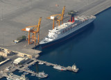 QEII at Port Rashid