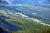 Northernmost farmland - 70 degrees north latitude? Tana River, Rustefjelbma, Norway