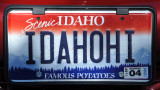 Idaho Famous Potatoes license plate
